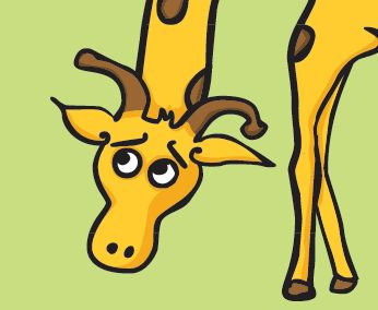 Lazy Giraffe (Birthday)